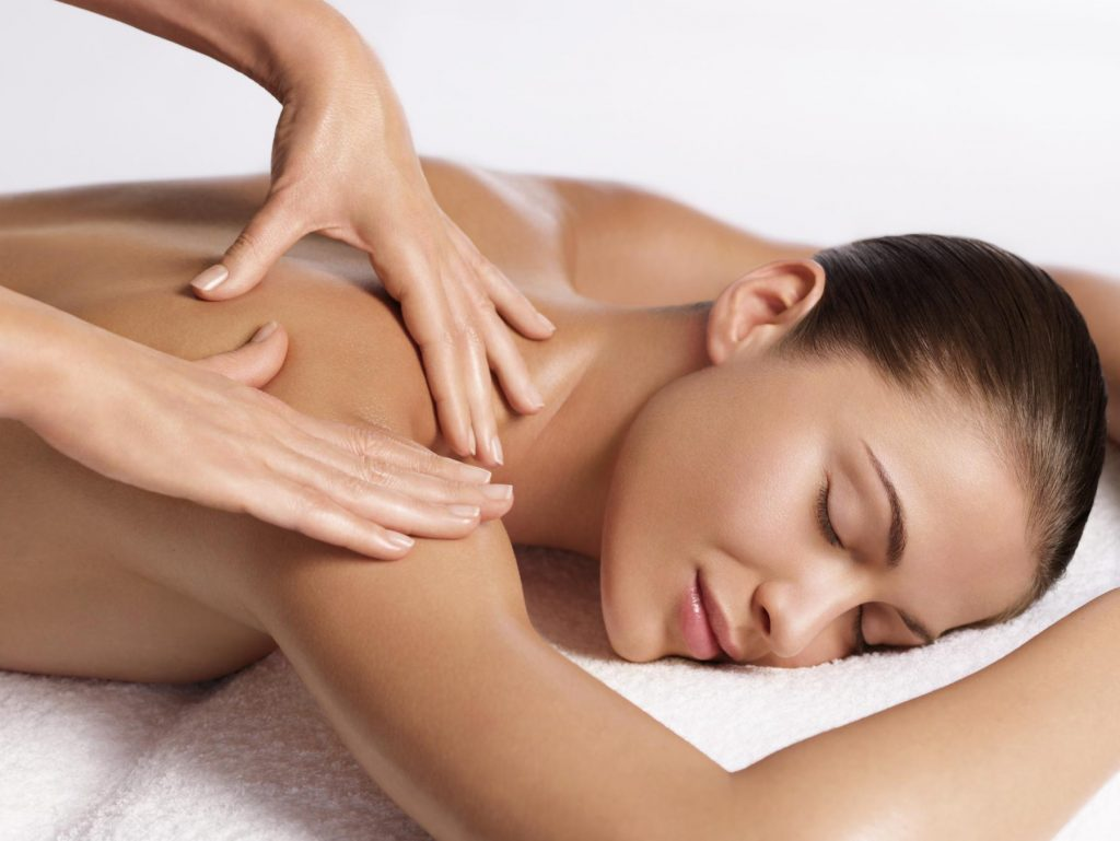 Back & Shoulder Massage Houston