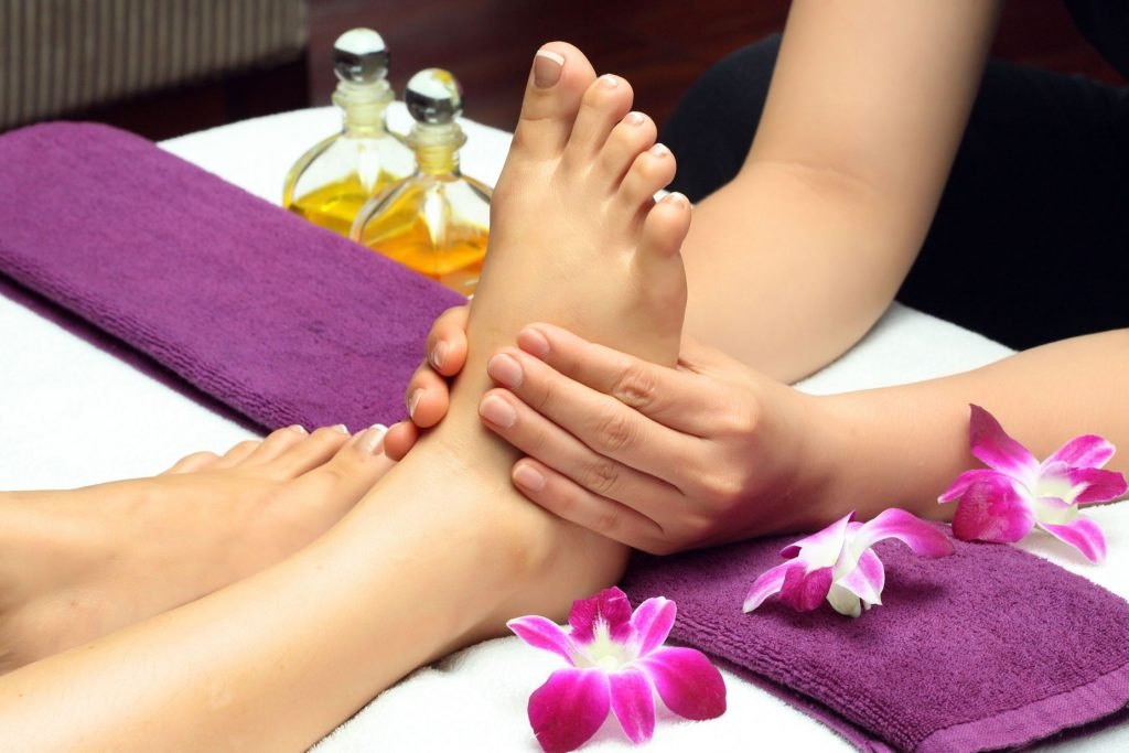 Foot Reflexology Massage Houston